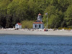 Maury Island Lighthouse was very popular