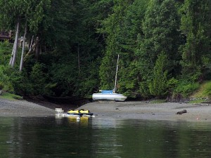 Another Sailboat aground in Squaxin Passage.