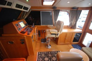 Raymarine Electronics at the helm of Yes Please.