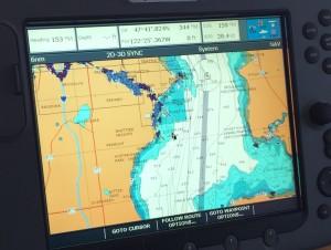 28 knots in choppy seas is pretty impressive